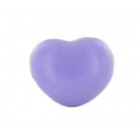 Savons sujets Cœur violet 25g - Carton 800