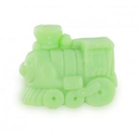 Savons sujets Transport Train vert - Carton 400