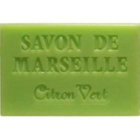 Savonnette Marseille 60g citron vert - Lot 6
