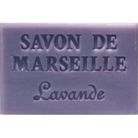 Savonnette Marseille 60g lavande - Boite 16