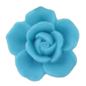 Savon rose turquoise - Sachet 10