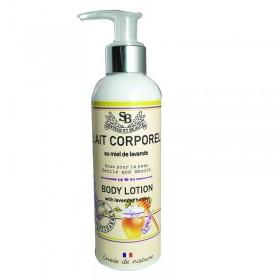 Gel douche 200ml à l'huile essentielle de lavande 3034