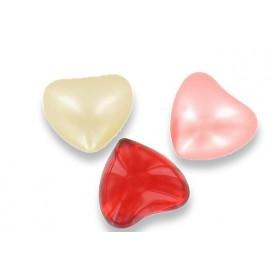 Perle de bain cœur parfum rose - Carton 1200